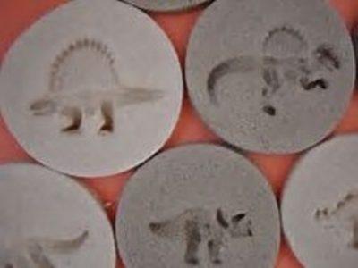 Salt dough fossils