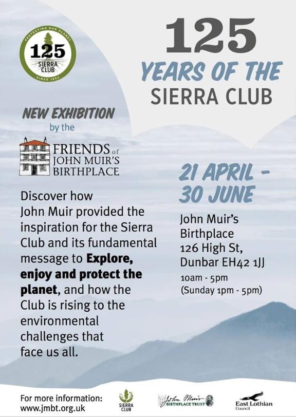 Sierra Club poster