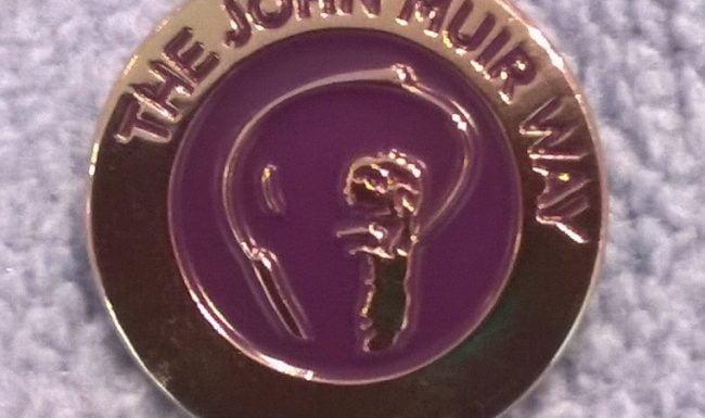 John Muir Way Pin Badge