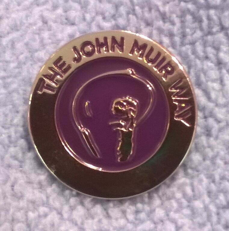 John Muir Way Pin Badge