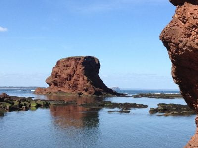 rock formation, dunbar