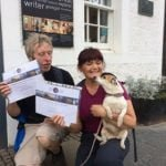 Symington the Dog completes John Muir Way