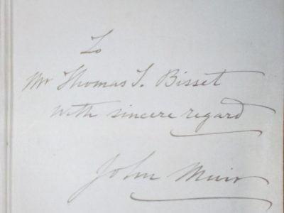 John Muir Signature
