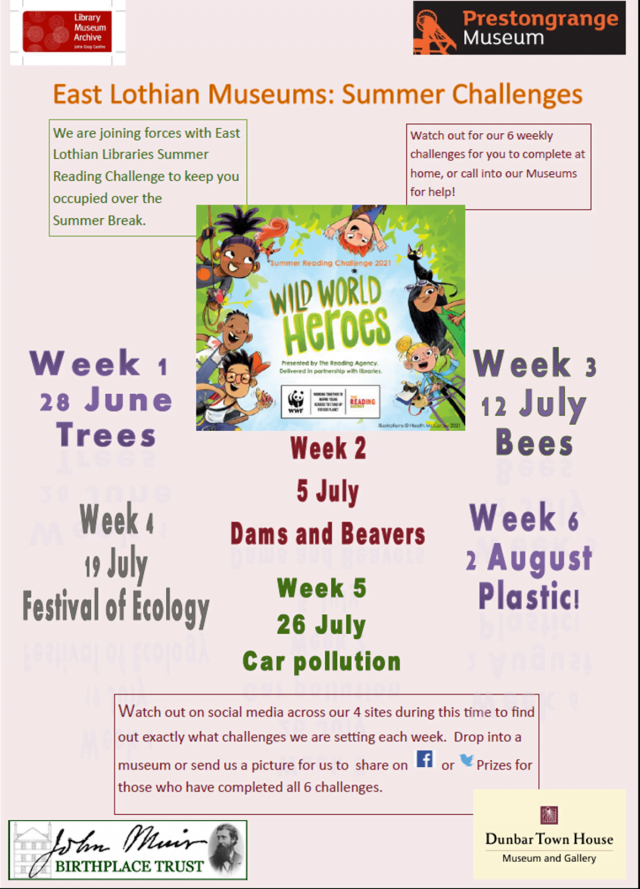 Summer Reading Challenge leaflet